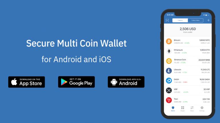 รีวิว Trust Wallet กระเป๋าเก็บ Bitcoin, Ethereum, LiteCoin และอื่นๆอีกมากมาย