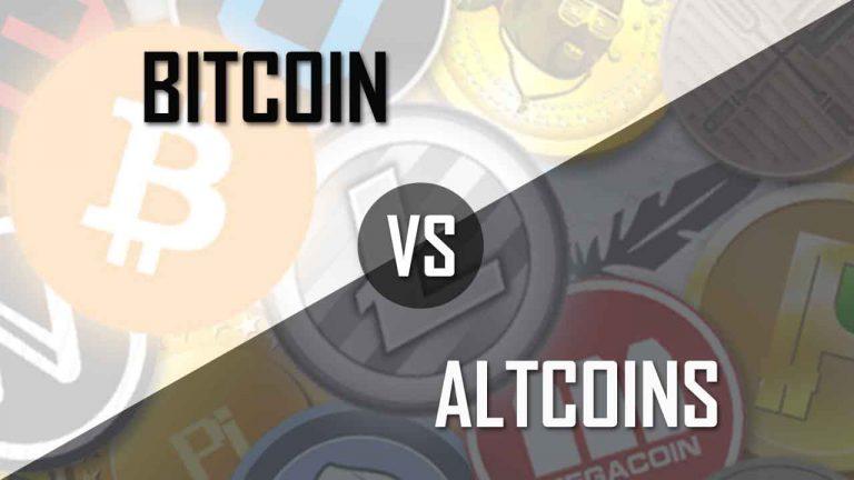 Bitcoin vs Altcoin ลงทุนอันไหนให้ผลตอบแทนดีกว่ากัน