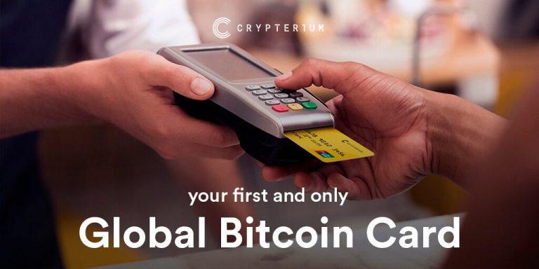 [รีวิว] บัตรคริปโต Crypterium ใช้จ่ายเงินได้ทั่วโลก พร้อมกดเงินสดผ่านตู้ ATM