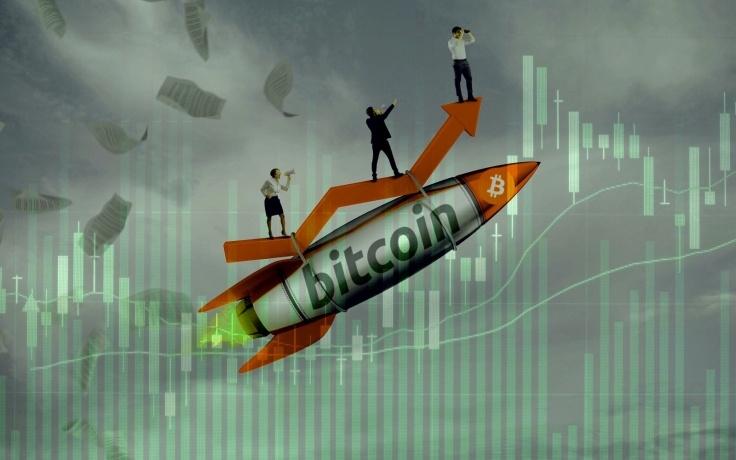 Bitcoin เป้าหมายต่อไปที่  $70,000 เนื่องจากความต้องการของสถาบันการลงทุนยังคงพุ่งแรงไม่มีแผ่ว